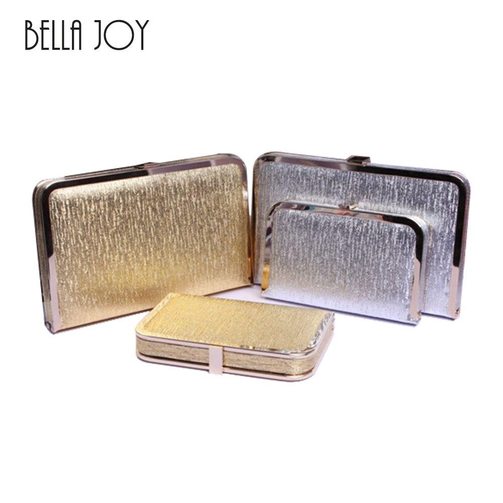 9e8a66a3850ef Neue Bling Frauen Abendtasche Gold und Silber Farbe Clutch Box Taschen  Frauen Handtasche Schulter kreuzkörper Beutel WB9056 in Neue Bling Frauen  Abendtasche ...