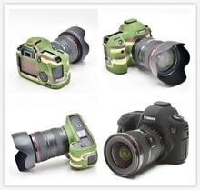Камера хорошая мягкая силиконовая резина камера тела защитный чехол кожи для Canon 6D высокое качество