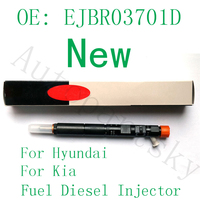 338004X800 EJBR03701D OEM New Fuel Diesel Injector For Delphi for Hyundai Terracan for Kia Canival 338014X800 33801 4X800