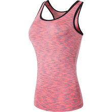 2019 Women's Slim Quick Dry Base Layer Tank Top Vests Sleeveless T-Shirt SWT241 USA size S M L XL(China)