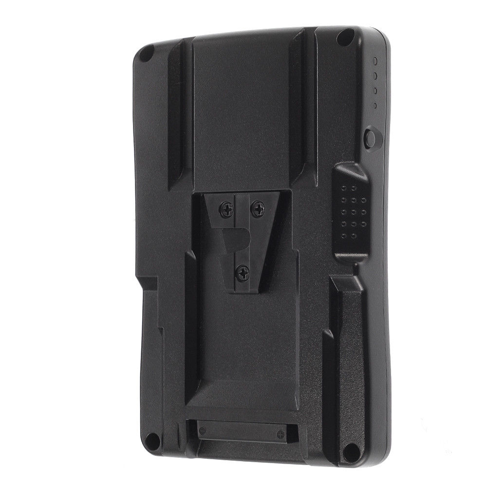 NP-F Back Pack Battery External To V-Mount Adapter Plate For 2 Sony NP-F970 NP-F770 570 550 530 330