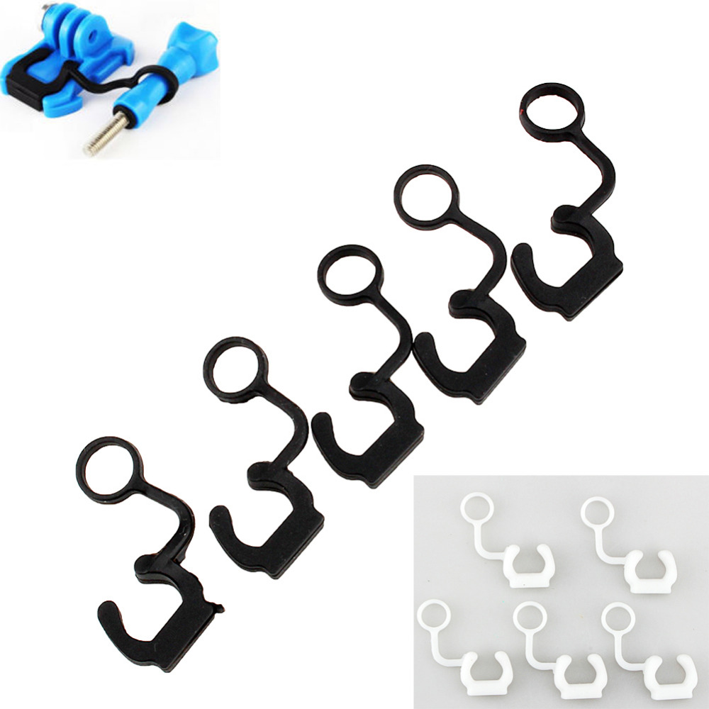 5pcs Set For Gopro Soft Silicone Rubber Lock Plug For