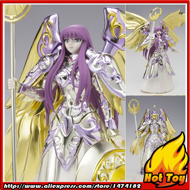 100% Original BANDAI Tamashii Nations Saint Cloth Myth Action Figure - Athena from Saint Seiya new arrivial saint seiya athena god myth cloth 10th anniversary saori san action figure bandai cavaleiros do zodiaco brinquedos