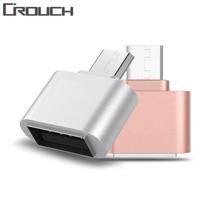 Crouch Mini Micro USB OTG Hug Converter Camera Tablet MP3 OTG Adapter for Samsung Galaxy S3 S4 Sony LG Microusb OTG cable