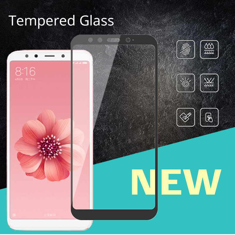 Full Cover MIA2 Tempered Glass For Xiaomi Mi A2 5.99 Protectora 9H Screen Protective For Xiaomi Mi A2 MIA2 Glass Films