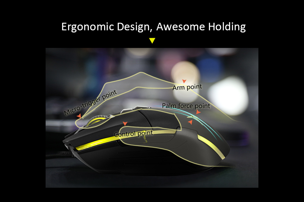 gaming mouse, computer mouse, ergonomic mouse, office mouse, fps gaming mouse