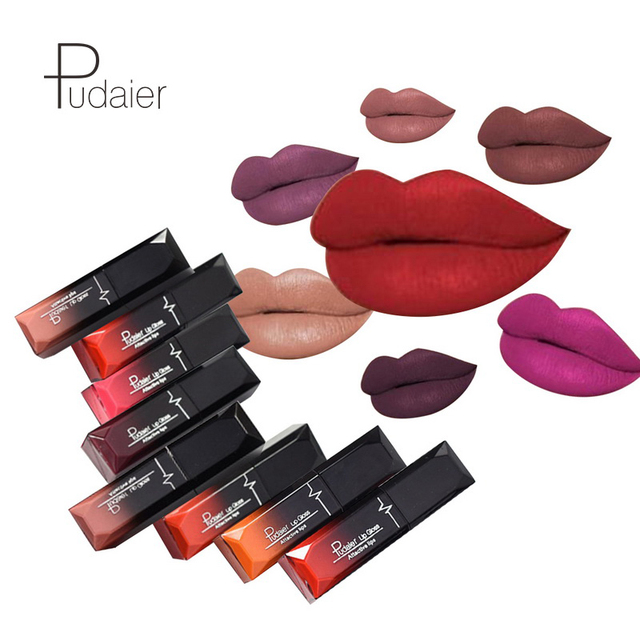 Waterproof Matte Lipstick Lasting 24hrs