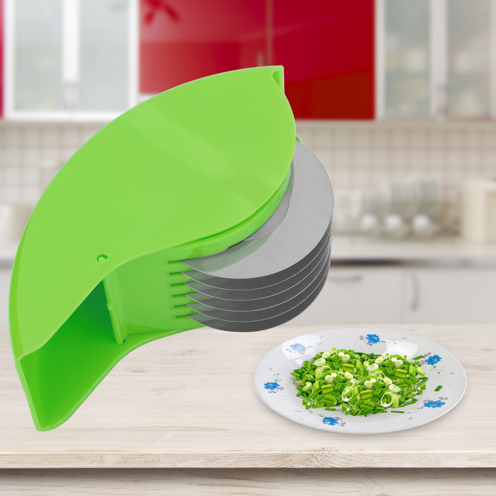 Herb Roller Mincer Aozbz Manual Hand Scallion Chive Mint Cutter Corporation Br120af Single Pole Arc Fault Circuit Breaker 20amp With 6 Stainless Steel Blade Kitchen Vegetable Chop