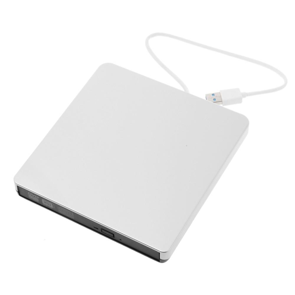Ultra-slim External USB 3.0 CD DVD-RW Drive Rom Burner Writer 14.8x14.2x1.6cm CD-R 24X for PC Laptop Desktops MAC