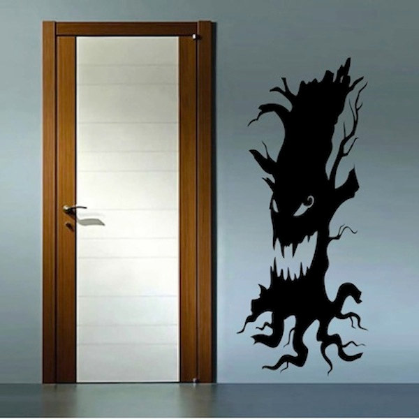 Scary Tree Home Halloween Party Home Livingroom Art Decal