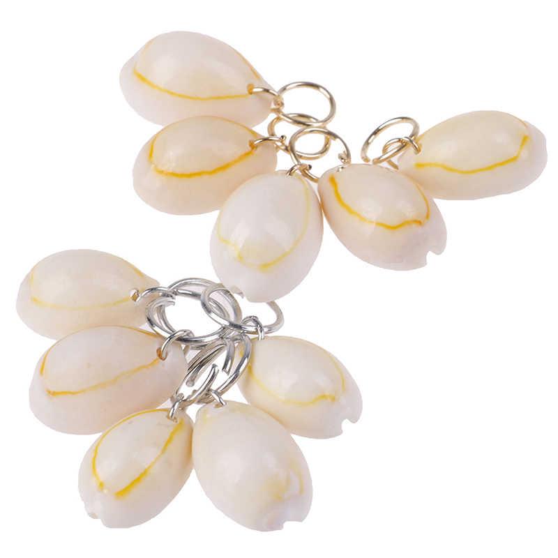 2019 ใหม่ 5 ชิ้น/เซ็ตหัวผมขนาดเล็ก Star SHELL Leaf จี้แหวนลูป Braid อุปกรณ์เสริมผู้หญิงร้อนชุดคลิปผม pearl