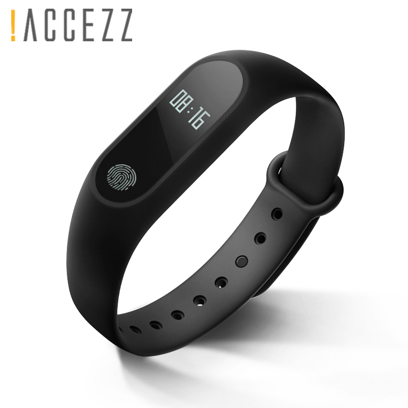 !ACCEZZ Bluetooth Smart Band Bracelet For Xiaomi Huawei Honor Phone IP67 Waterproof Wristband Fitness Tracker M2 For IOS Android