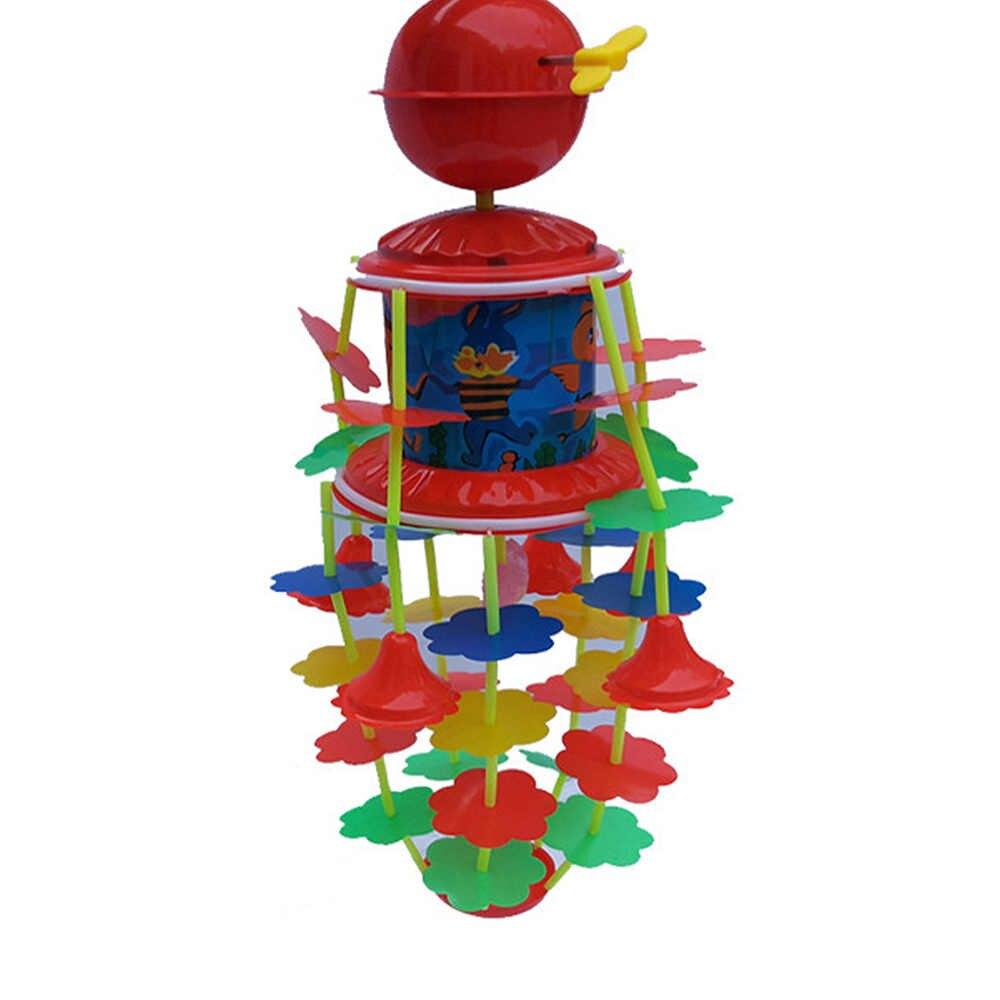 2019 najnowsze zabawki wiatr kuranty muzyka obrotowe Baby Cartoon zabawki rozwojowe mechaniczna Wind Up do łóżeczka wózka grzechotki zabawkowe piłki