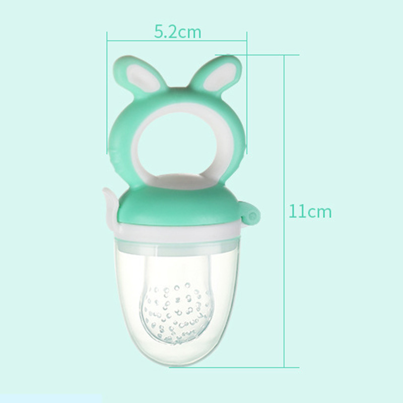 Baby food Fresh Food Fruit Vegetable Mills Dispenser baby Nipple Baby biting training device Care Safety Tool food scissors in Pacifier from Mother Kids