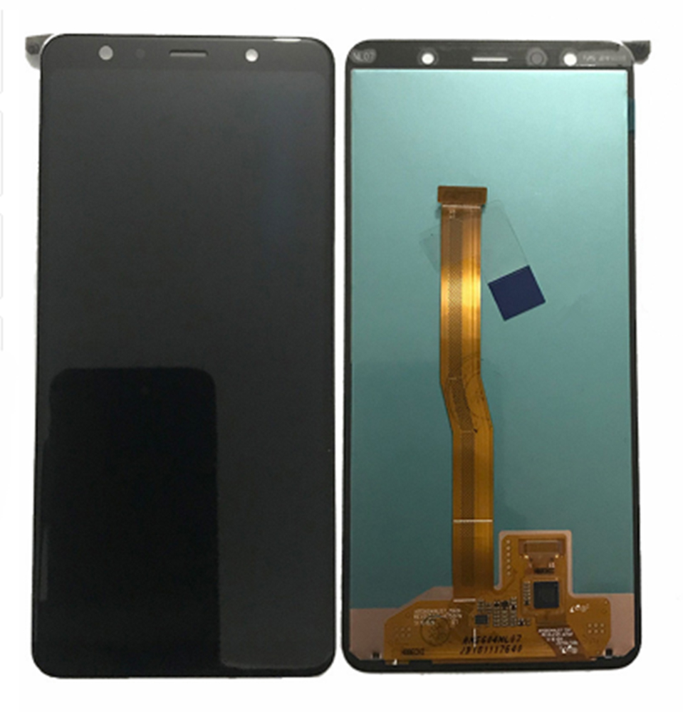 For <font><b>Samsung</b></font> Galaxy <font><b>A7</b></font> 2018 A750 A750F SM-A750F A750FN A750G <font><b>LCD</b></font> Display+Touch Screen Digitizer Assembly Free Tools image