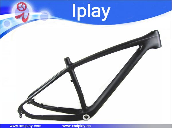 chinese carbon frame Cheap MTB carbon frame 29er, hard tail carbon bike frame,disc brake,Di2 compatible,2 years warranty image