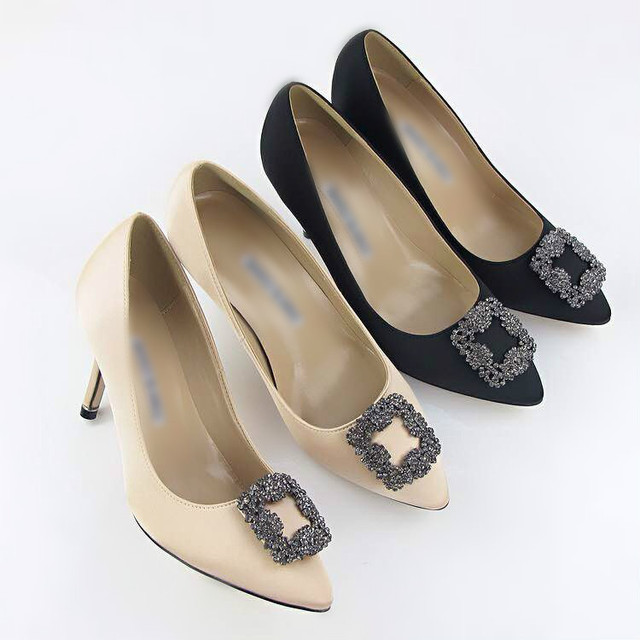 New 2015 MB high-heeled pointed diamond silk women s shoes autumn new  European and American RV high-end women s shoes 24719278bf4b