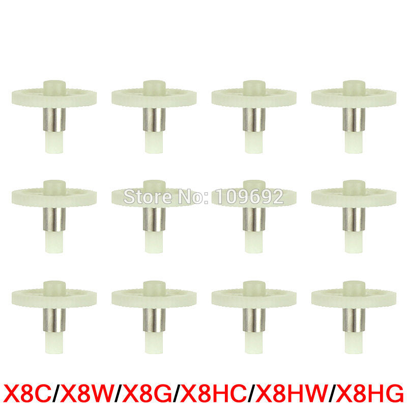 100% Original Main Gear For Syma X8 X8C X8W X8G X8HC X8HW X8HG Spare Parts 2.4G RC Drone Gears Quadcopter Helicopter Accessories 7 color propeller protective frame for syma x8 x8c x8w x8g x8hc x8hw x8hg quadcopter rc drone spare parts protection accessories