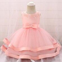 Kleinkind Baby Mädchen Sommer Kleid Infant Prinzessin Kleid 1 Jahr Geburtstag Baby Mädchen Party Kleid Neugeborenen Baby Mädchen Kleid L5017xz