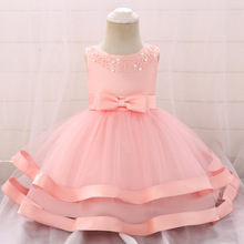 Toddler Baby Girl Summer Dress Infant Princess Dress 1 Year