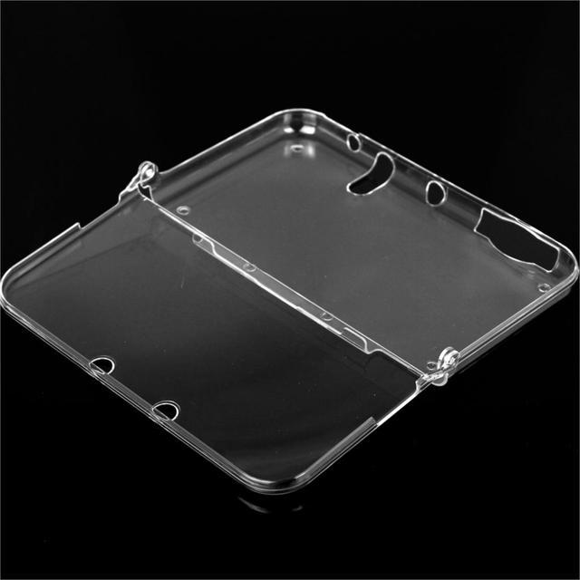 Цельный Жесткий Пластиковый Прозрачный Кристалл Прозрачный Чехол Обложка Shell Кожи для Nintendo Новый 3DS XL