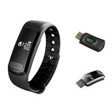 Smart монитор сердечного ритма браслет sx102 0.49 »экран sleep smartband автомобильных браслет шагомер вызова вибрация pk mi группа 2