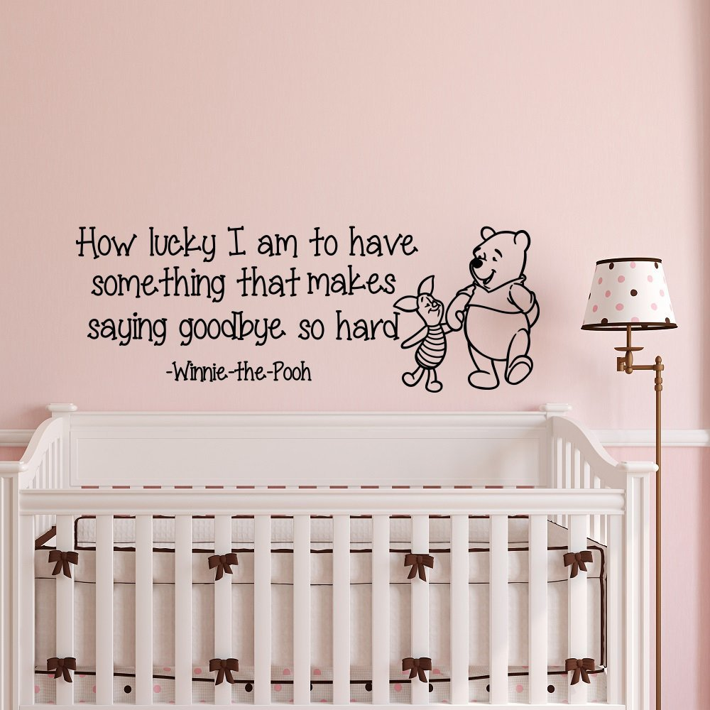 Winnie The Pooh Wall Decal Vinyl Wall Sticker Home Decor Kids Room  Removable Waterproof Decal M192 In Wall Stickers From Home U0026 Garden On  Aliexpress.com ...