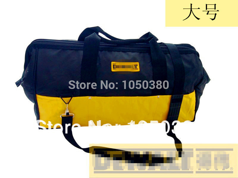Tool Bag  Large Size Electric Kit Buffer Kit Nylon Open Tote  Bucket Organizer Electrician Pockets Portable Pack Oxford Toolkit canvas kit multifunction waist bag electrician repair water resistant pockets tool bag