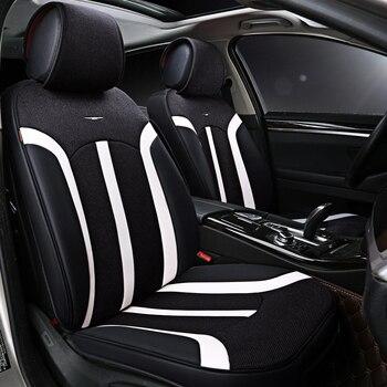 Universal car styling seat cushion flax Car Seat Covers for Mazda 3 6 2 C5 CX-5 CX7 323 626 M2 M3 M6 Axela Familia car accessori