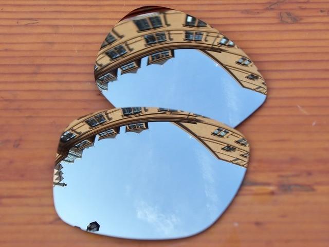 Chrome Espelho De Prata Polarizado Lentes de Substituição Para O Jupiter  Squared Óculos De Sol Quadro 61baecb519