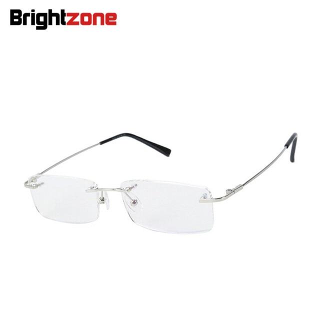 4f1b651c2 Liga De Titânio sem aro flexível armações de óculos ópticos espetáculo  quadro ponto de grau óculos