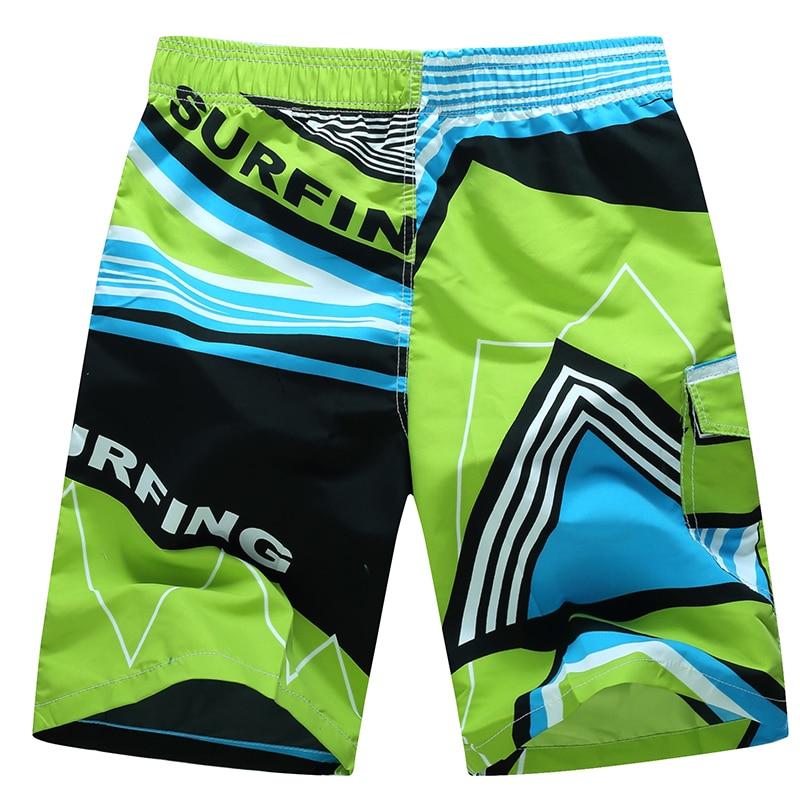 Новая мода Лидер продаж мужские пляжные шорты для будущих мам купальники свободные быстросохнущая короткие De Bain Homme плюс Размеры Мода Zwembroek Heren шорты