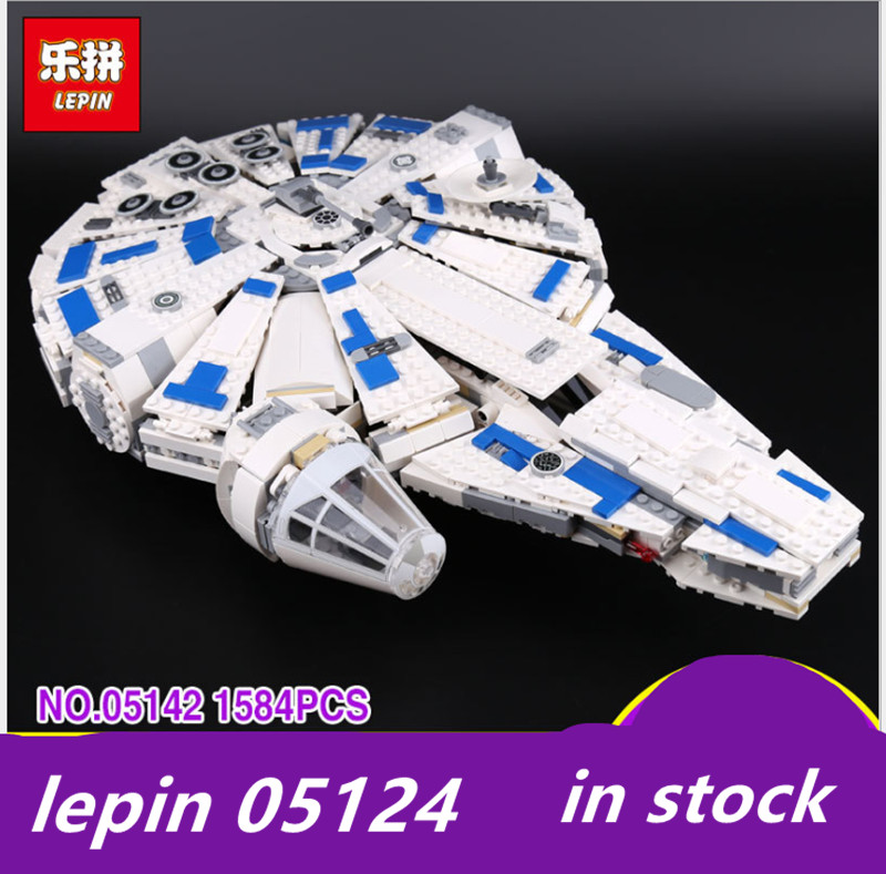 LEPIN 05142 lepin Star Wars Force Awakens Millennium Falcon Legoing starwars Millennium Falcon legoing 75212 Toy Building Blocks