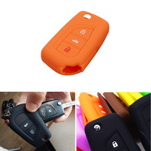 Silicone Car Key Cover Case Shell For Toyota Auris Corolla Avensis Verso Yaris Aygo Scion TC IM(China)