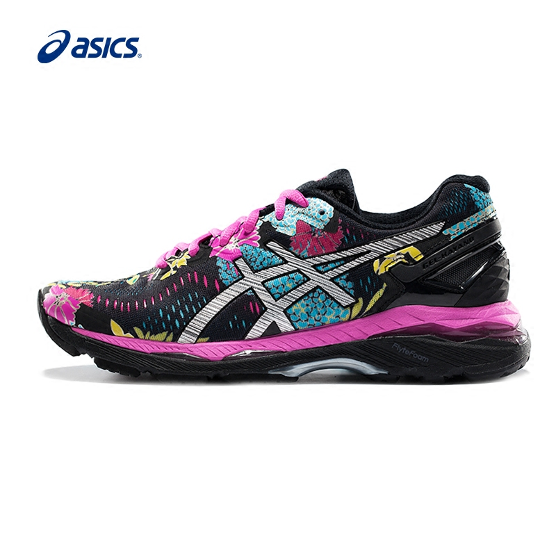 Original ASICS GEL-KAYANO 23 Women's Cushion Stability Running Shoes Sports Shoes Sneakers Breathable Tennis shoes Non-slip asics gel volley elite 2
