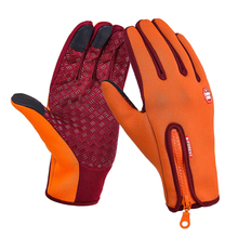 Warm Horse Riding Gloves Windproof Luva Ciclismo Touch Screen Equestrian Gloves For Women Men Child