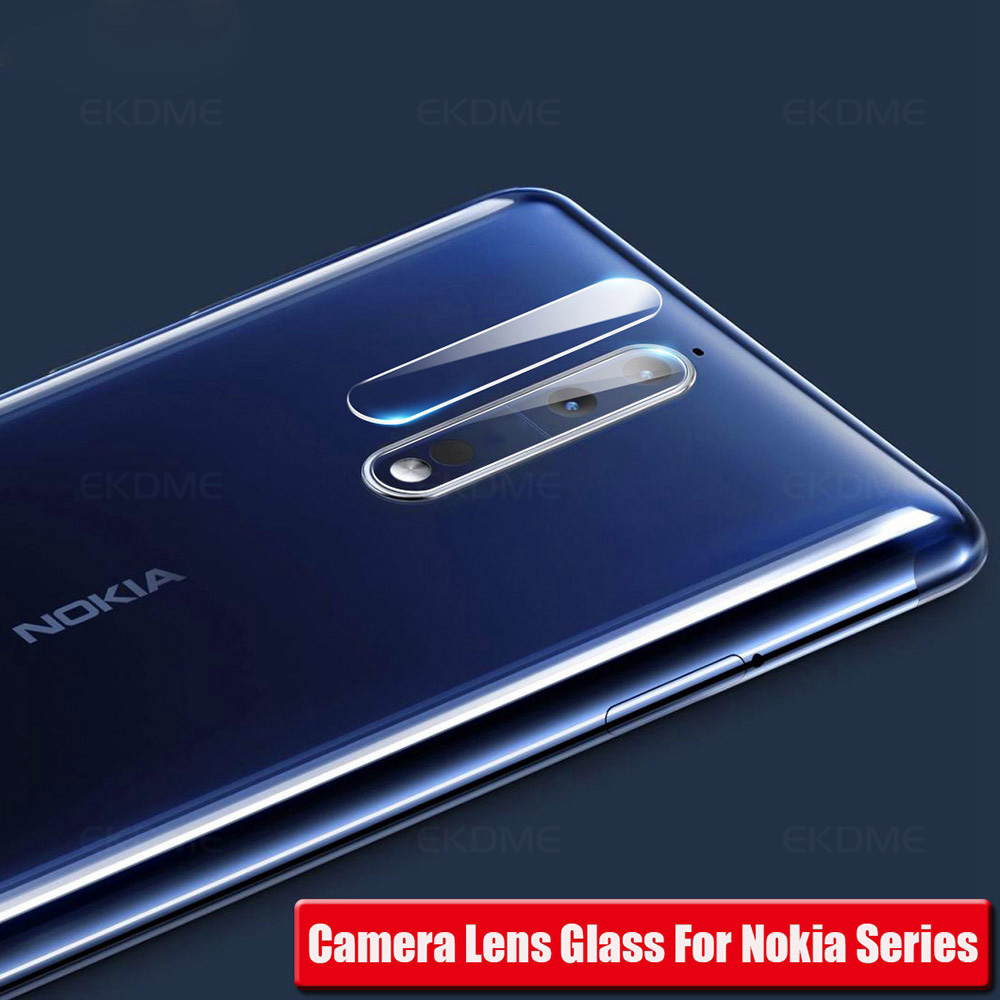 2Pcs/Lot Tempered Camera Glass For <font><b>Nokia</b></font> 7 Plus 5.1 Plus 7 7.1 X5 <font><b>X71</b></font> Back Camera Lens Film Cover For <font><b>Nokia</b></font> 5 2018 8 Sirocco 1 image