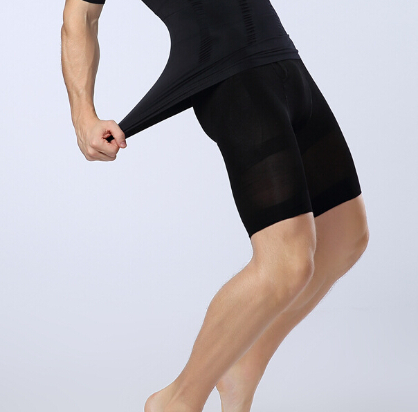 Men Waist Cincher Control Panties Slimming Thigh Underwear Breathable Tummy Trimmer Shaper Lift Butt Panty 5