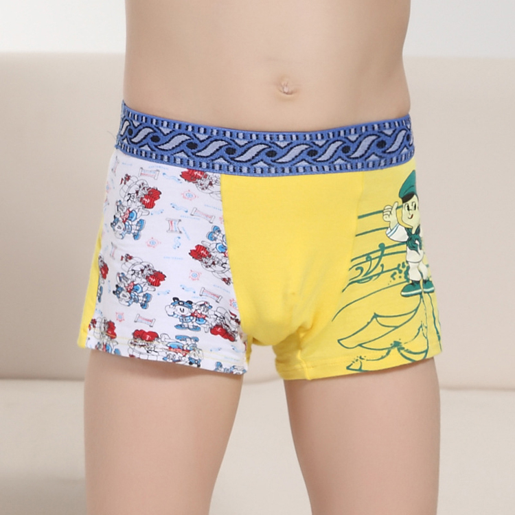 6pcs/lot) AVA Underwear Modal Boys Knickers Cotton Boys Briefs ...