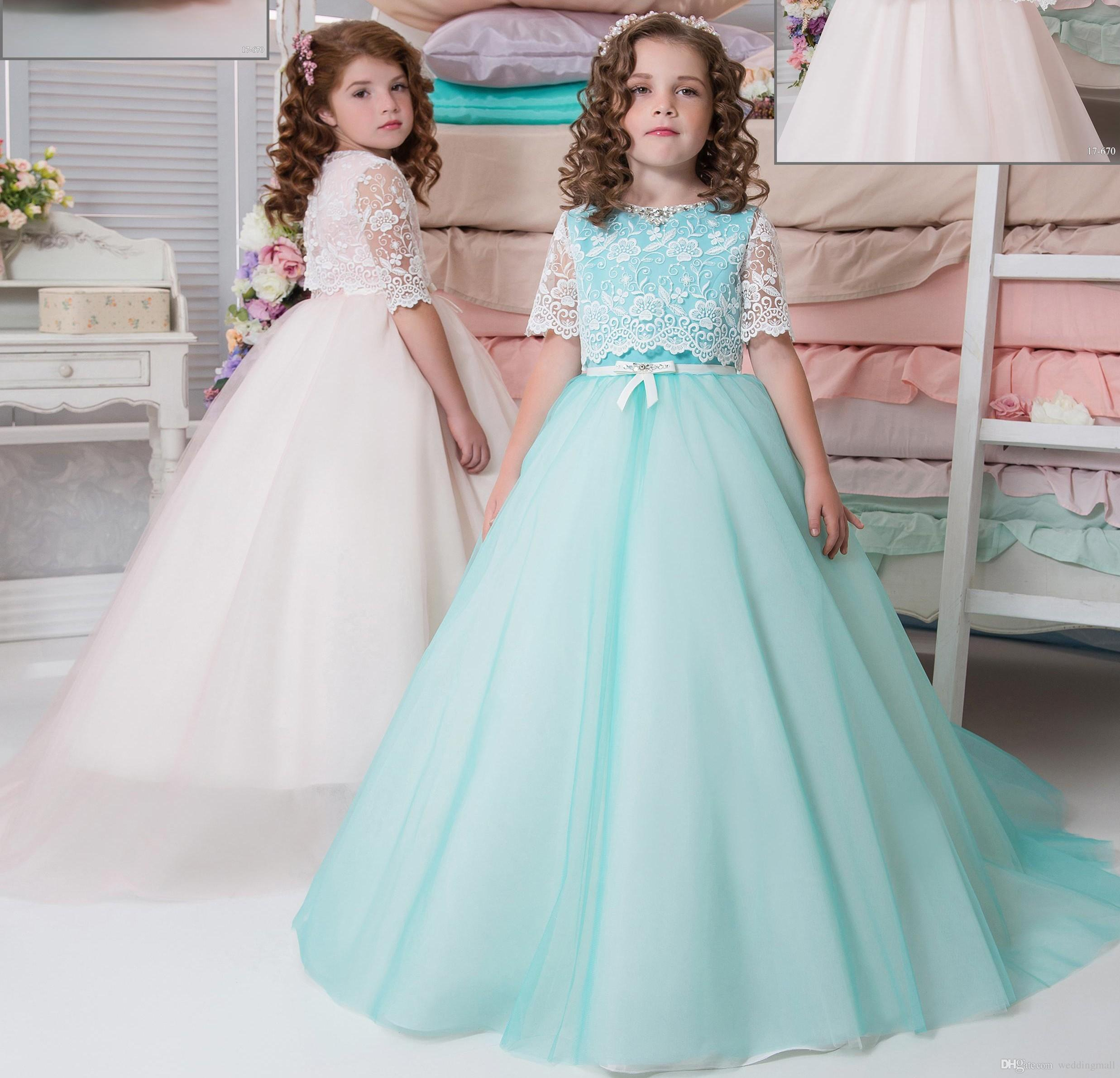 Outstanding Little Girl Dresses For Weddings Cheap Pictures - All ...