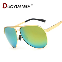 DUOYUANSE couples polarized sunglasses fashion super elastic stainless steel sun glasses A276 driving glasses wholesale and box