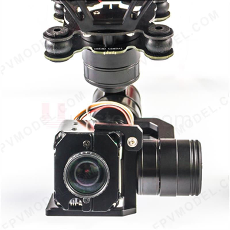 FPV RESCUE-1 3-Axis Gimbal RTU for Zoom Camera Gimbal with 10x Zoom Camera 1080P DVR HDMI