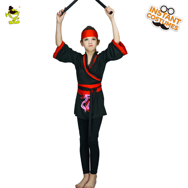 Kids-Ninja Girl Classic Halloween Costumes Cosplay Costume Ninja Costumes For Kids Fancy Party Decorations  sc 1 st  AliExpress.com & Kids Ninja Girl Classic Halloween Costumes Cosplay Costume Ninja ...