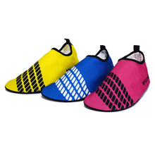 New Men Women Lover Stripes Aqua Water Shoes Beach Sea Swimming Surfing Outdoor Upstream Trekking Barefoot Skin Yoga Sport Shoes
