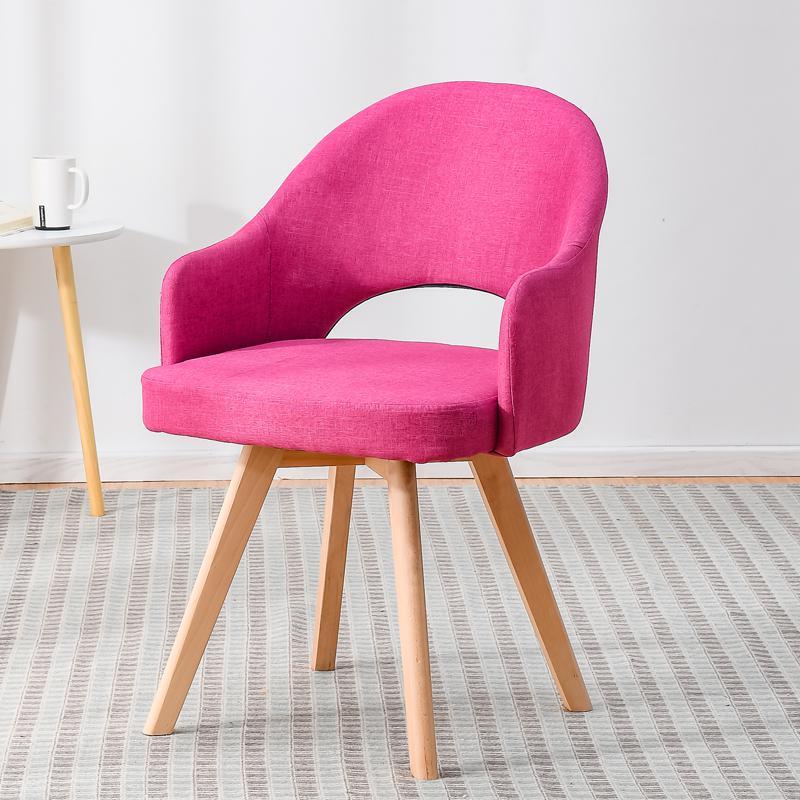 Современный простой стул для ленивых в скандинавском стиле, деревянный стул для ресторана, стул для обучения, простой стол и стул - Цвет: style 8