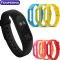 2017 New Xiaomi Mi Band 2 Bracelet Strap Miband 2 Colorful Strap Wristband Replacement Smart Band Accessories For Mi Band 2
