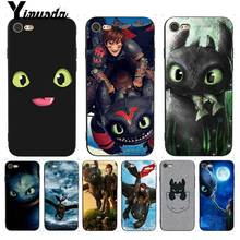 Yinuoda For iphone 7 6 X Case Toothless Train Your Dragon Fi