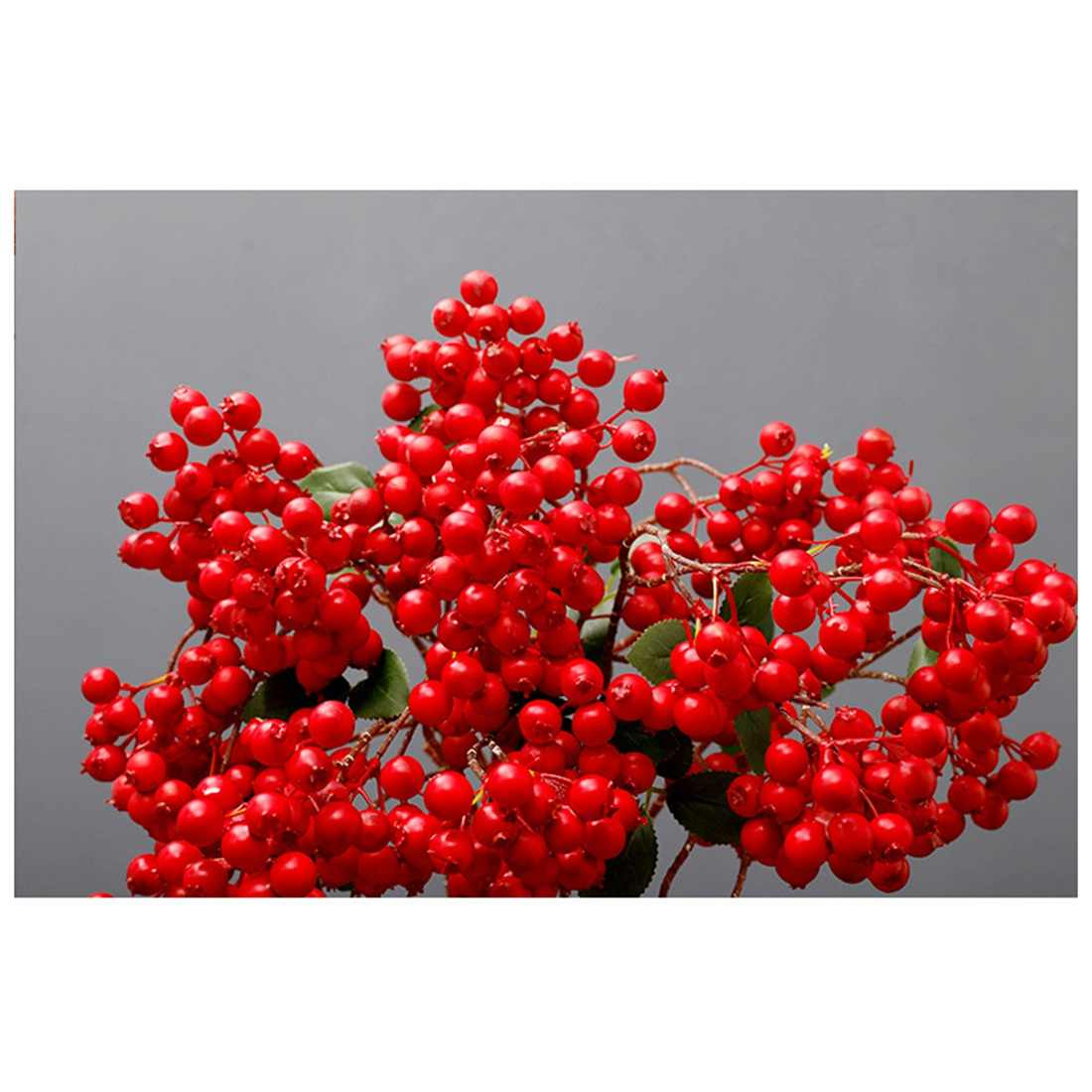 Merah Bouquet Dekorasi Rumah Eropa Kekasih Buah Besar Cabang Acacia Buah Rumah Hotel Dekorasi Pernikahan Photogr
