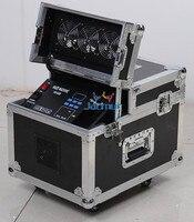 2Pcs/Lot Dj Haze Machine Flight Case Packing Stage Fog Smoke Effective Equipment Dmx Smoke Remote Control