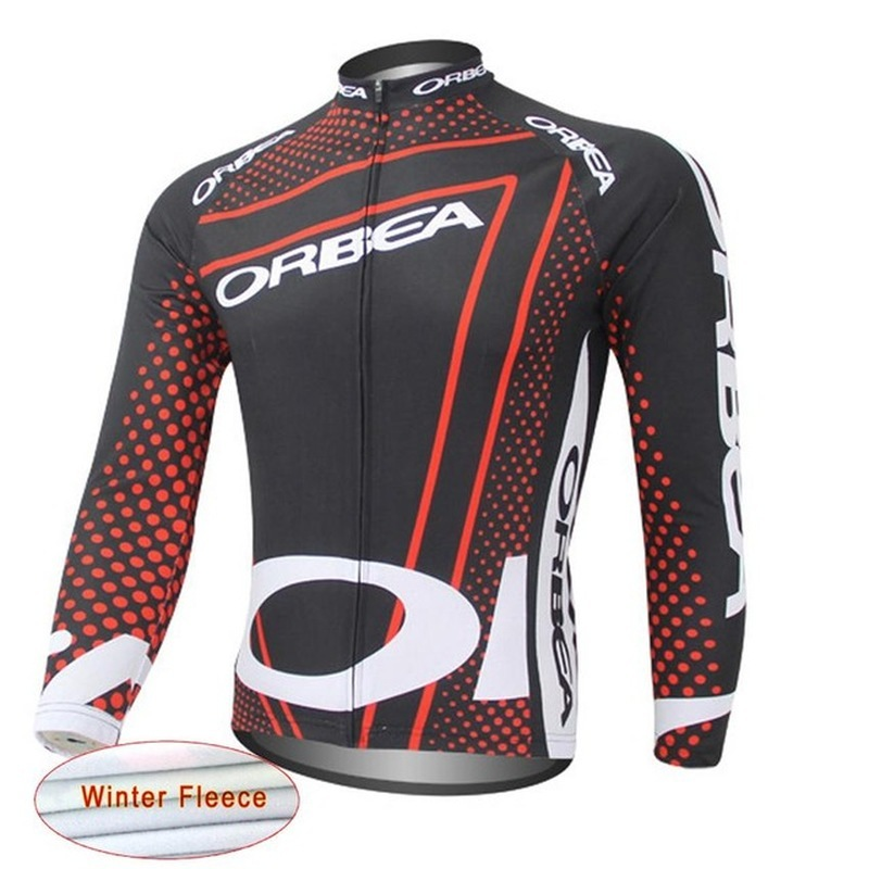 2018 ORBEA riding winter warm sweater mountain bike bicycle shirt long sleeve jacket mens bicycle clothing Ropa Ciclismo Hombre
